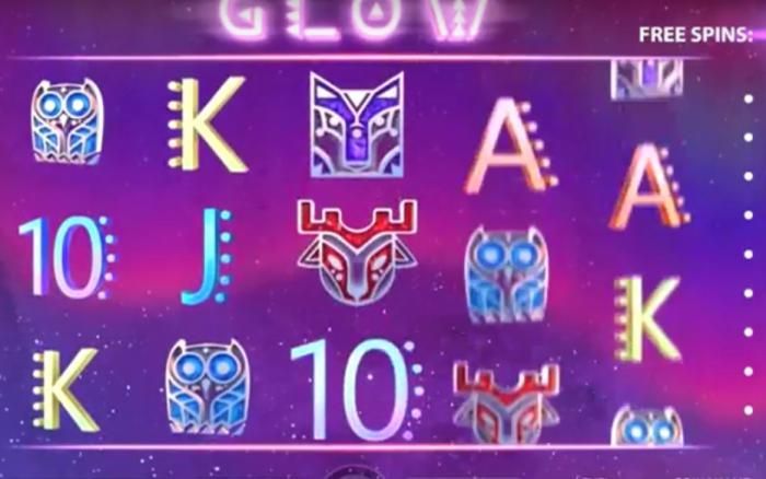 Eksklusivt Glow slotspill fra NetEnt