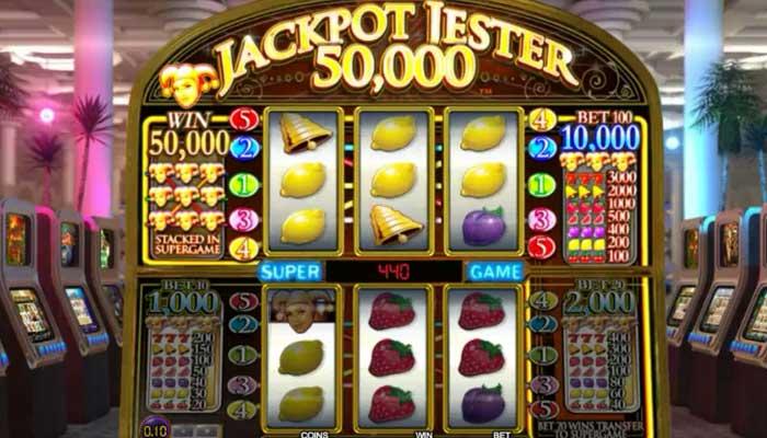 Jackpot Jester 50k spilleautomater