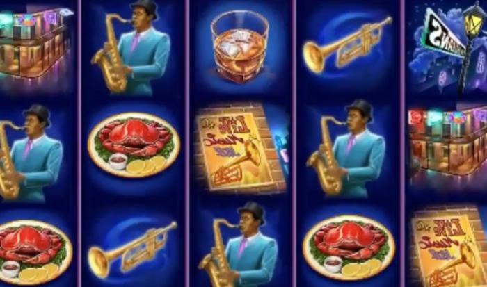 Big Easy spilleautomat på nett heter Jazz of New Orleans