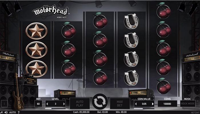 Motörhead spilleautomater