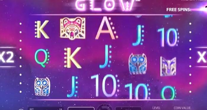 Glow spilleautomat
